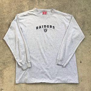 Vintage Oakland Raiders Embroidered Long Sleeve